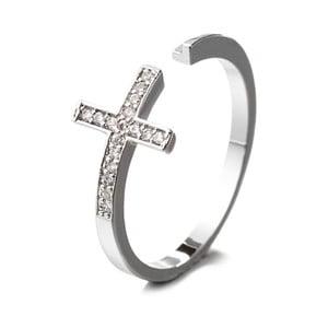 Prsten s krystaly Swarovski Confianza, velikost 52