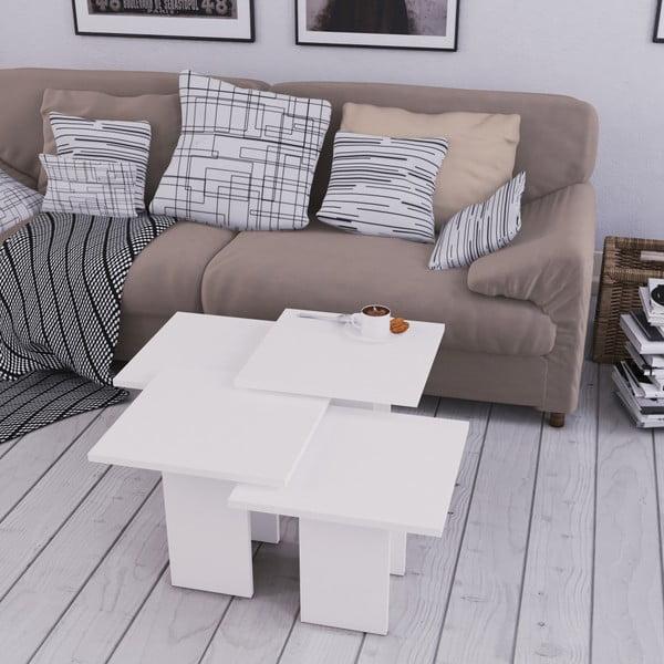 Bílý konferenční stolek Homitis Grade