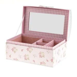 Šperkovnice Pink Retro