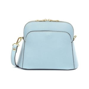 Světle modrá kožená kabelka Renata Corsi Debora