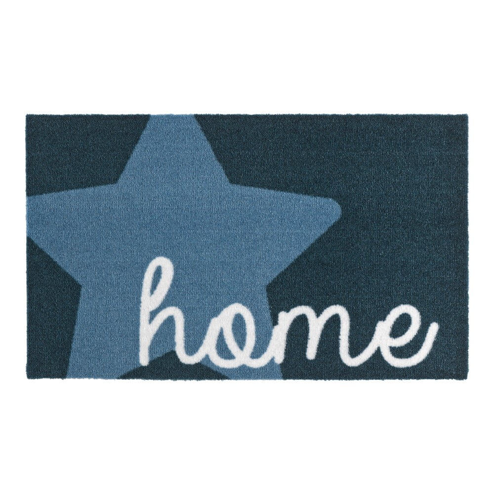 Modrá rohožka Zala Living Design Star Home Blue 50 x 70 cm