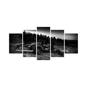 Vícedílný obraz Black&White no. 97, 100x50 cm