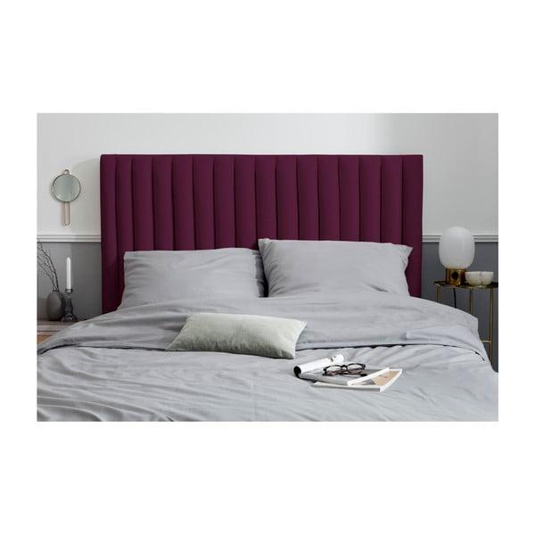 Burgundově červené čelo postele Cosmopolitan design NJ, 160x120cm