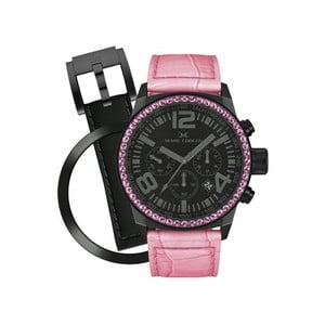 Dámské hodinky Marc Coblen s páskem a kroužkem navíc P42