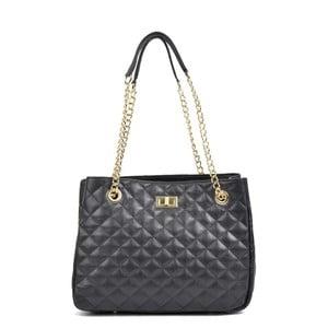 Černá kožená kabelka Isabella Rhea Marsso