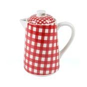 Konvice na čaj, 1,5 litru, červená