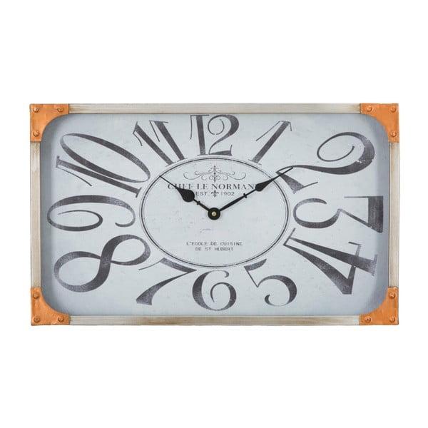 Nástěnné hodiny Mauro Ferretti Copper,50x30cm