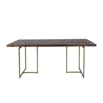 Masă cu structură din oțel Dutchbone Aron, 200 x 90 cm de la Dutchbone