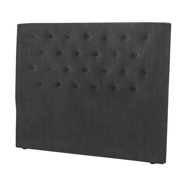 Tmavě šedé čelo postele Windsor & Co Sofas Astro, 160 x 120 cm