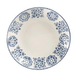 Farfurie adâncă din ceramică Côté Table Faro, albastru