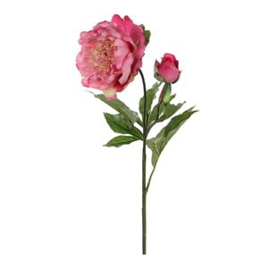 Umělá květina Peonyrose Pink, 71 cm