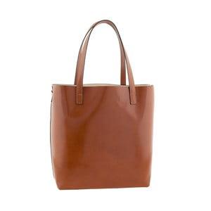 Kožená kabelka Italian Simplicity, medová