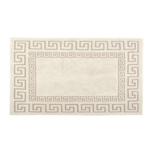 Bavlněný koberec Kanoi 120x180 cm, krémový