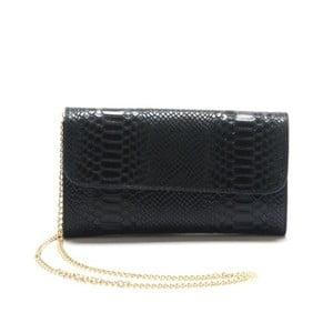 Černá kožená kabelka Isabella Rhea Scirpus