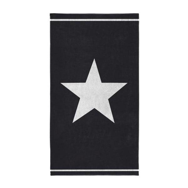 Osuška Star 100x180 cm, black