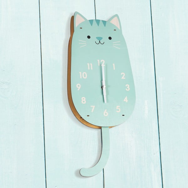 Ceas din lemn Rex London Cookie The Cat