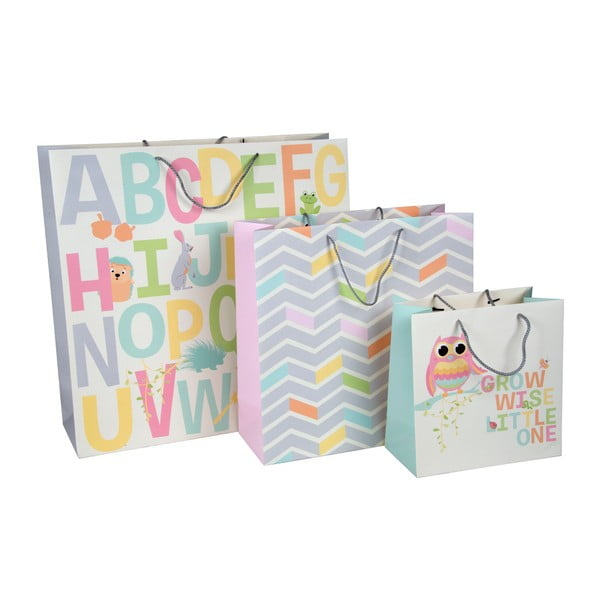 Set 3 pungi cadou Tri-Coastal Design Kids World