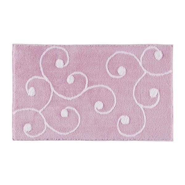 Koupelnová předložka Smirna Pink, 70x120 cm