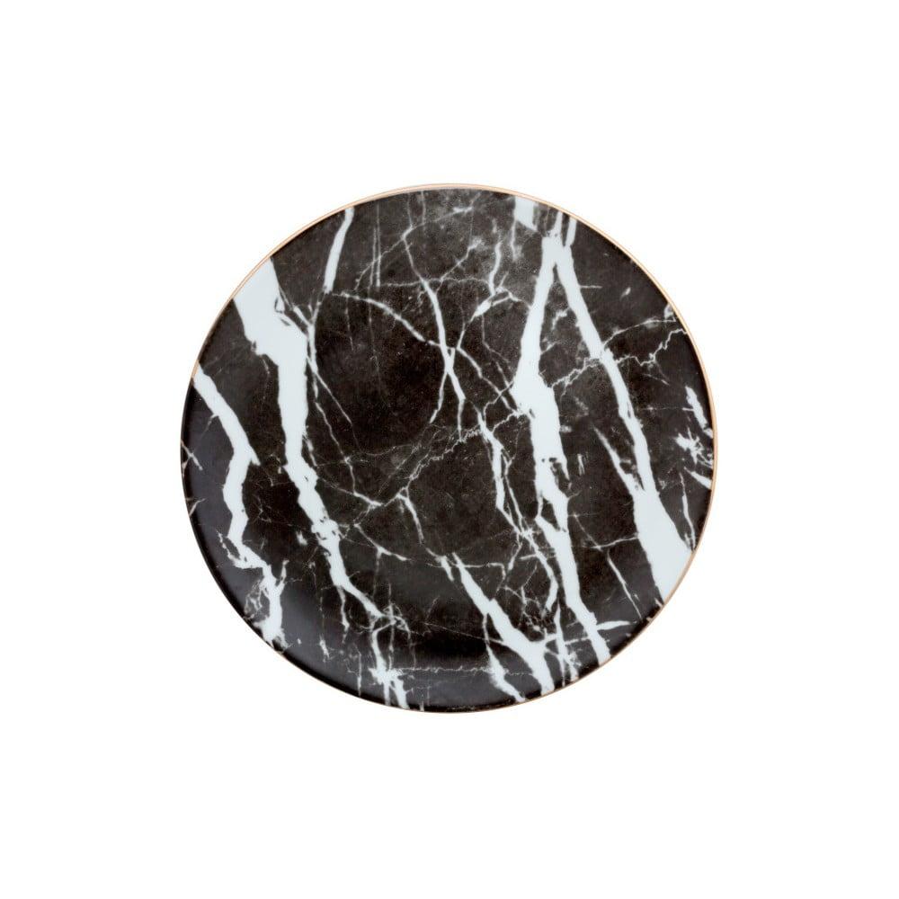 Porcelánový talíř Vivas Marble, Ø28cm