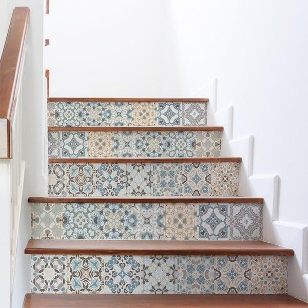 Set 2 autocolante pentru scări Ambiance Stylismo, 15 x 105 cm