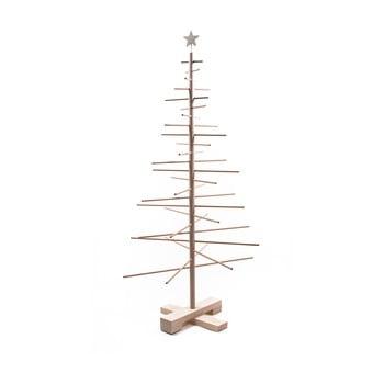 Brad din lemn pentru Crăciun Nature Home Xmas Decorative Tree, înălțime 125 cm imagine
