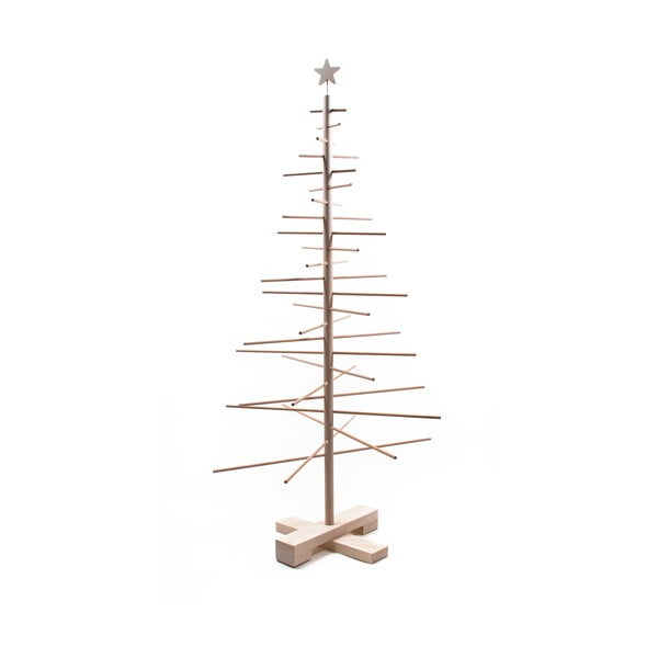 Drewniana choinka Nature Home Xmas Decorative Tree, wys. 125 cm