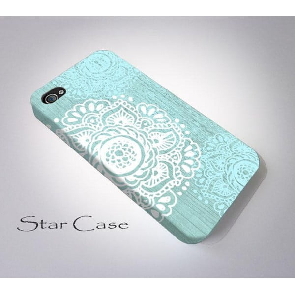 Obal na iPhone 6 Floral Blue