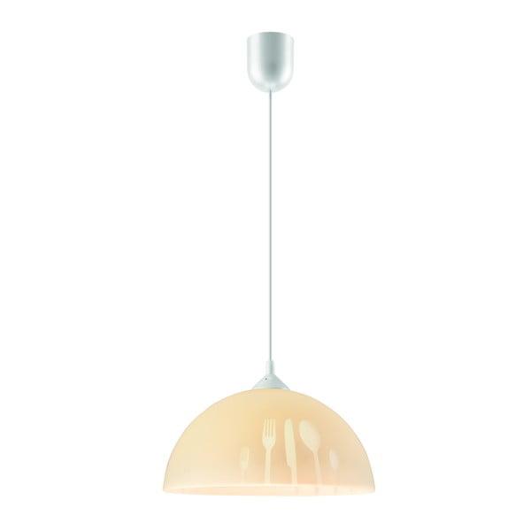 Béžové závěsné svítidlo Lamkur Forks