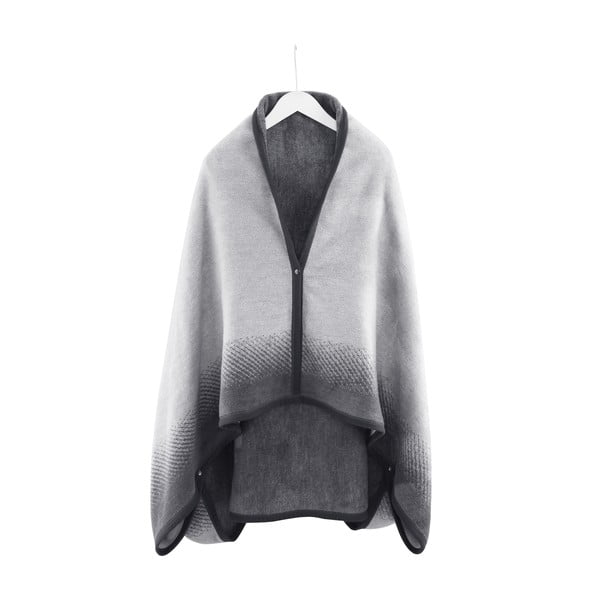 Domácí pončo/deka Black Pearl, 110x170 cm