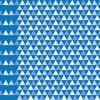 Tapeta Triangles Blue
