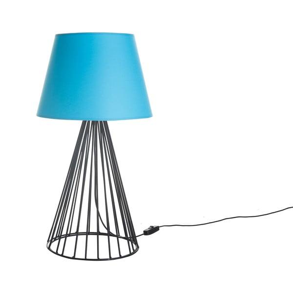 Stolní lampa Wiry Blue/Black