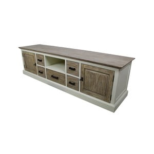 Dřevěný TV stolek HSM Collection Hampshire Long