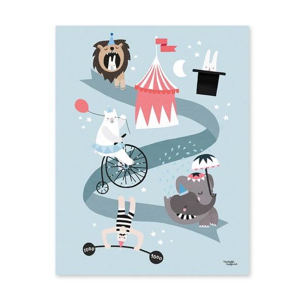 Plakát Michelle Carlslund Circus Friends, 30x40cm