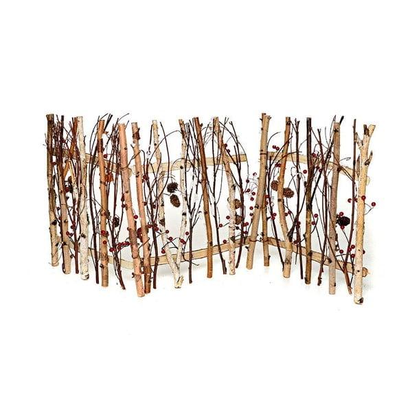 Dřevěný plůtek Pinecone, 120x49 cm