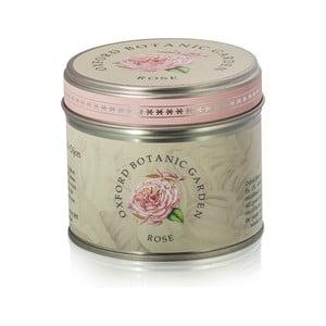 Vonná svíčka v plechovce s vůni růže Bahoma London Fragranced, 35hodin hoření