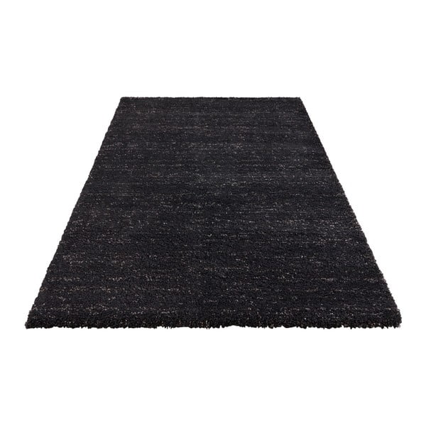 Antracitový koberec Elle Decor Passion Orly, 200 x 290 cm
