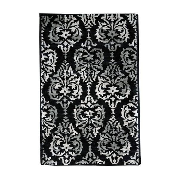 Koberec Damask Black/Taupe, 160x230 cm