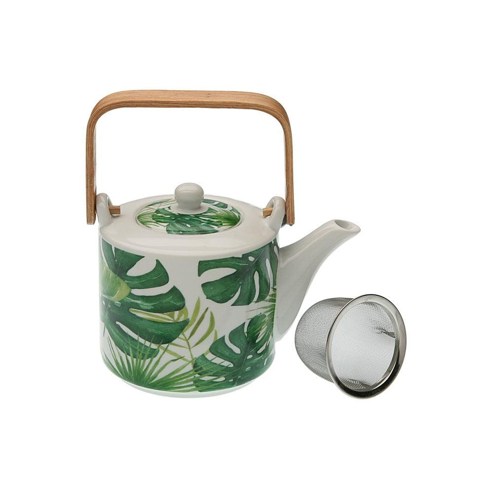 Porcelánová konvička na čaj Versa New Leafes