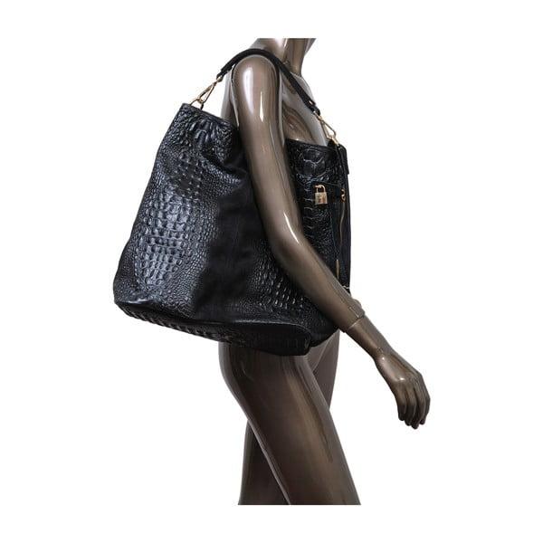 Černá kabelka z pravé kůže Andrea Cardone Edvige