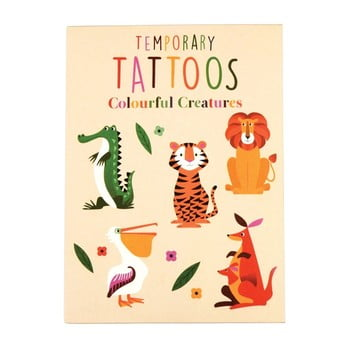 Tatuaje temporare Rex London Colourful Creatures
