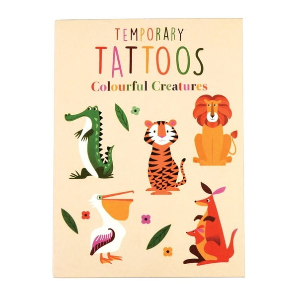 Tatuaje temporare Rex London Colourful Creatures