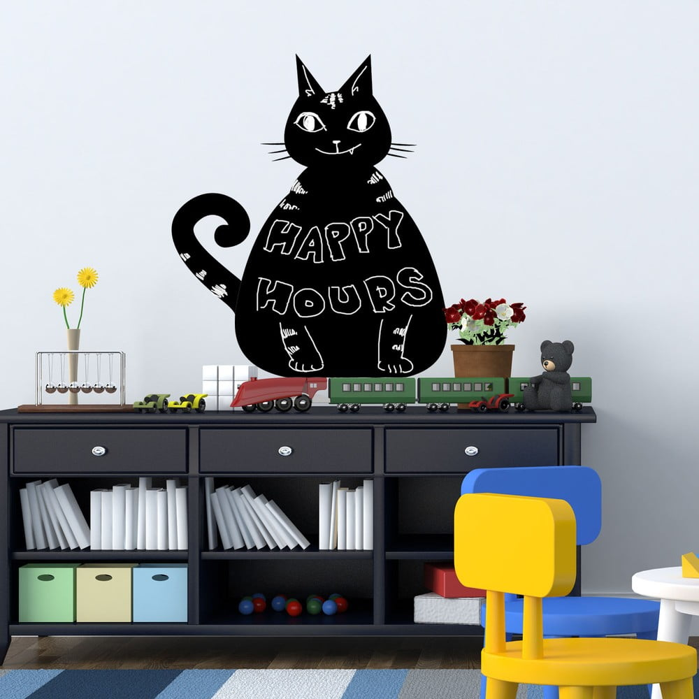 Tabulová samolepka Walplus Kočka