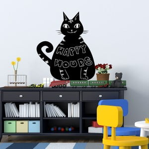 Autocolant tip tablă Walplus Blackboard - Cat