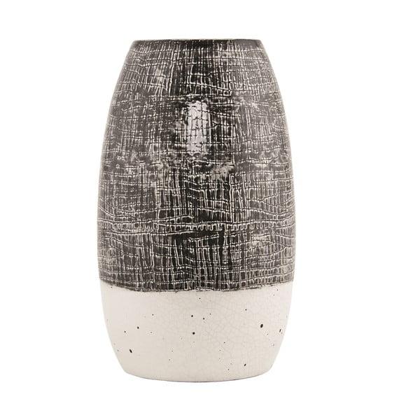 Váza Diced Grey
