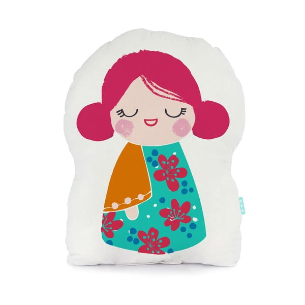 Poduszka bawełniana Moshi Moshi Cherry Blossom, 40x30cm
