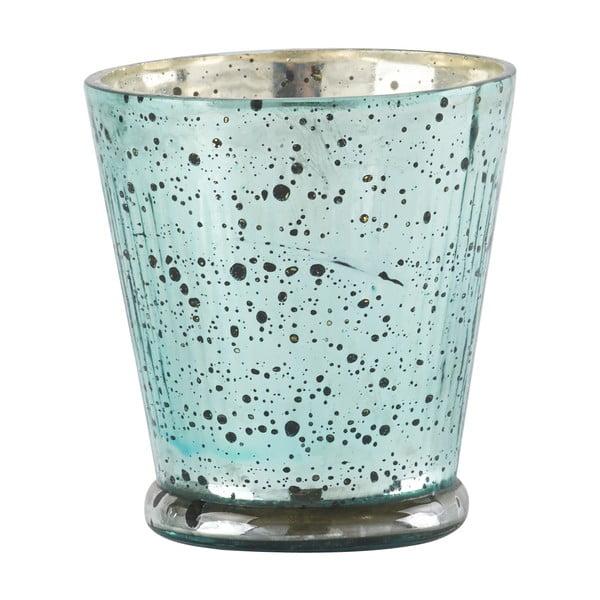 Svícen Athezza Aqua Blue