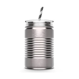 Termohrnek I can, stříbrný