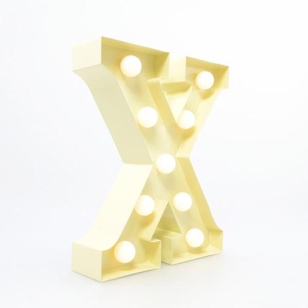 Dekorativní světlo Carnival X, vanilkové