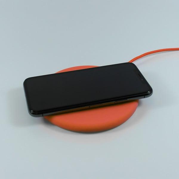 Oranžová nabíjecí stanice Philo Energy