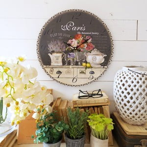 Nástěnné hodiny Orchidea Paris